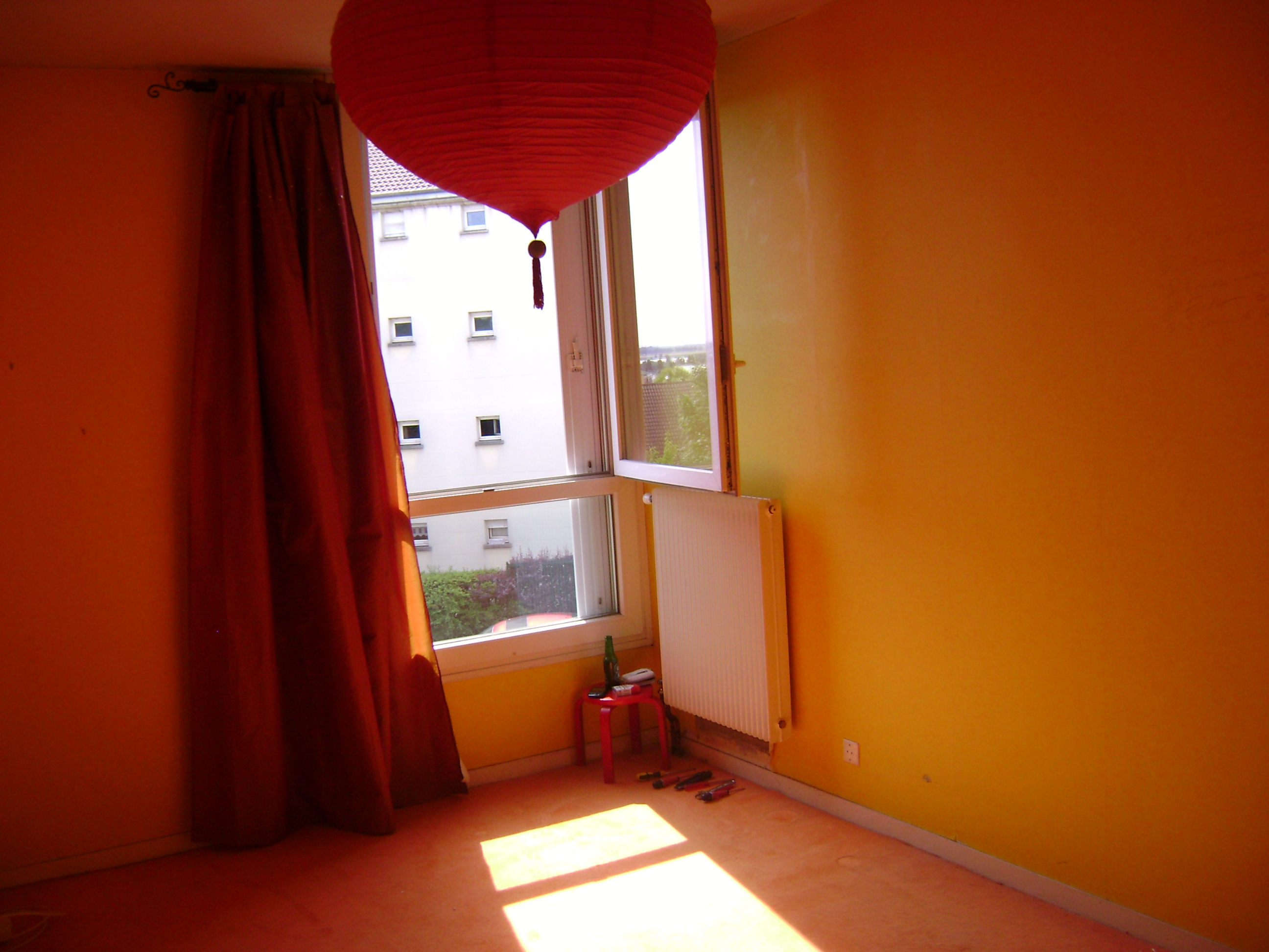 D coration peinture et parquet chambre parentale domont 95 104 ikououbel - Peinture chambre parents ...
